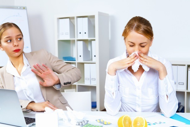 Tips For A Healthy Workplace During Cold And Flu Season