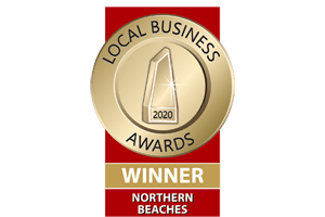 2020 Northern Beaches Local Business Awards Winner