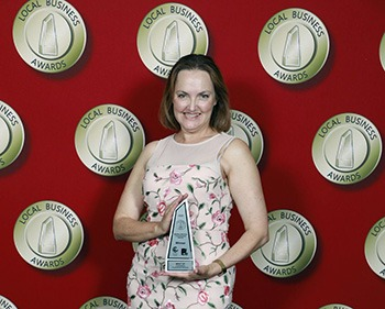Local Business Awards Therese Ravell Winner